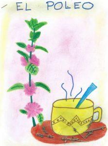 Dibujo del trabajo presentado por Candela Ortega (2º primaria, Checa)